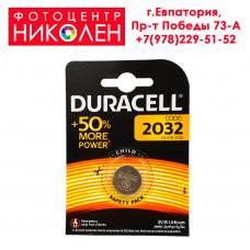 Элемент питания Duracell CR 2032