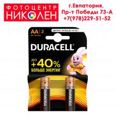 Элемент питания Duracell LR6 (AA)