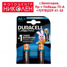 Элемент питания Duracell Turbo Max LR6 (AA)